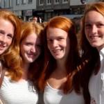 Bekommen Rothaarige und Blonde schneller wunde Brustwarzen?