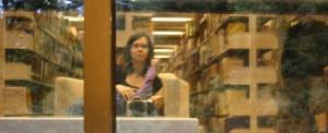 in der Bücherei