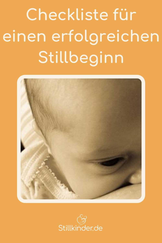 Ein Neugeborenes beim Stillen