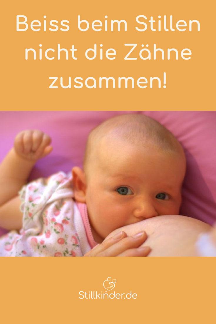 Baby an der Brust