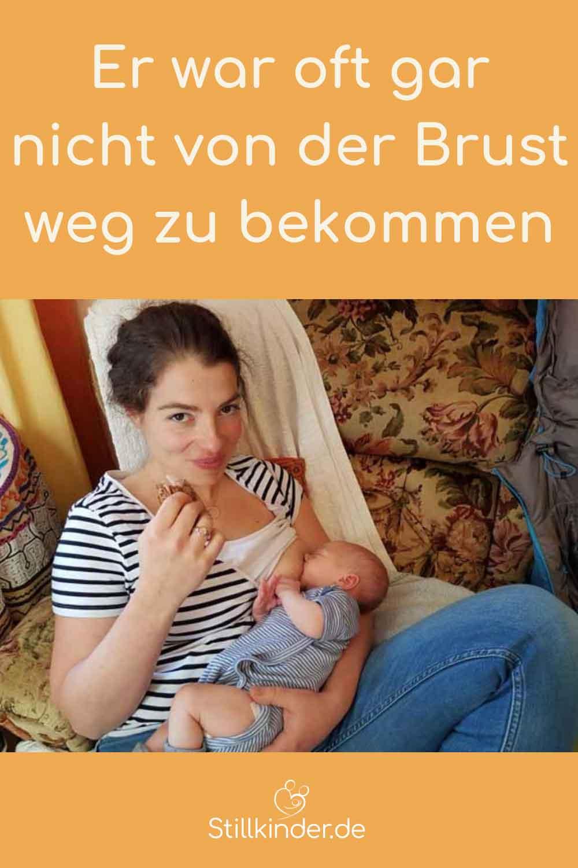 Eine stillende Mutter