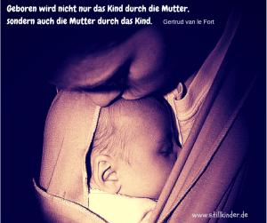 Geboren wird nicht nur das Kind