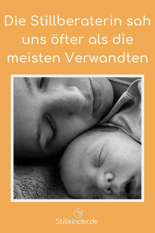 Schlafende Mutter mit Baby