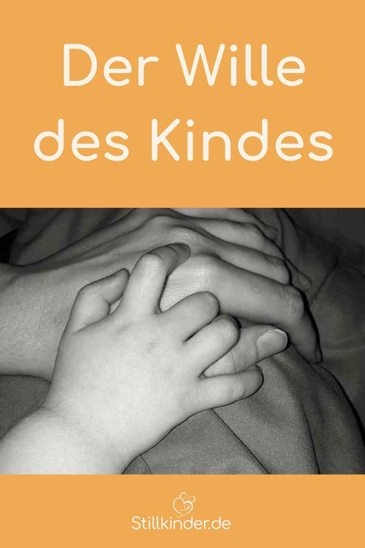 Kinderhand und Mamahand