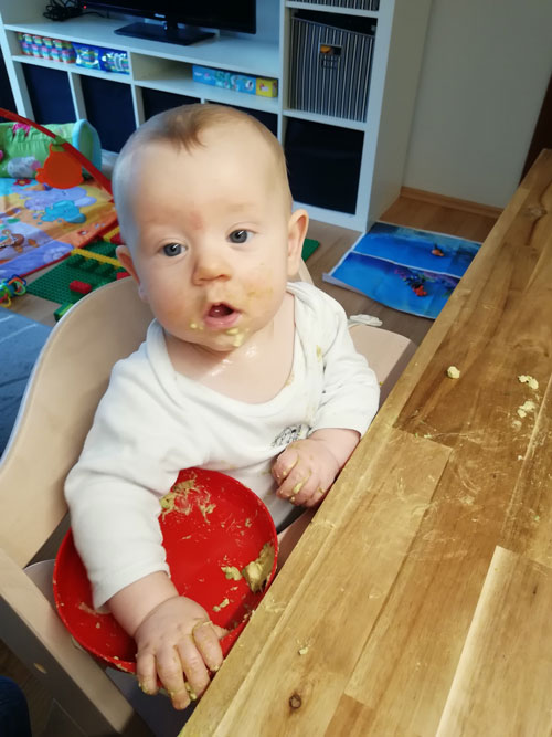 Machst Du richtiges Baby-led Weaning? Und spielt es eine Rolle?