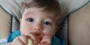Wie früh ist zu früh, um mit fester Nahrung zu starten?