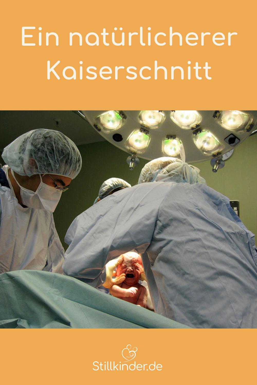 Eine Geburt per Kaiserschnitt