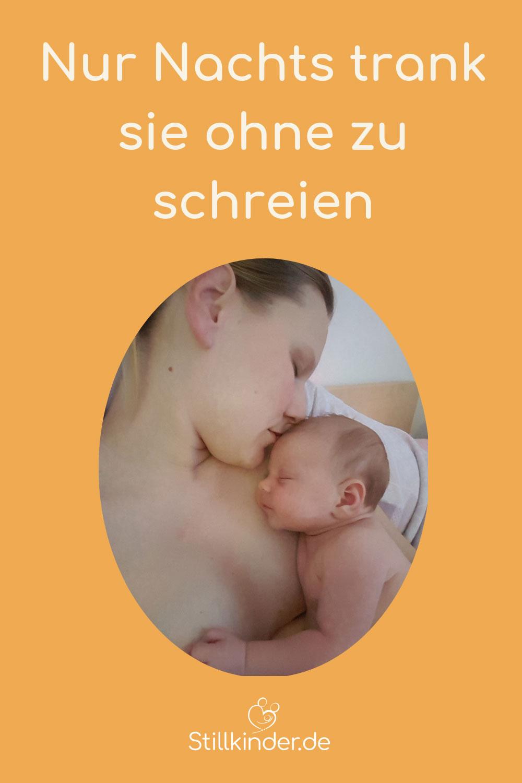Mama und Neugeborenes im Hautkontakt