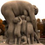 Statue im Frogner Park, Oslo