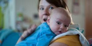 Muss ein Baby immer Bäuerchen machen?