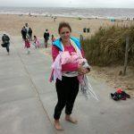 beim Strandspaziergang