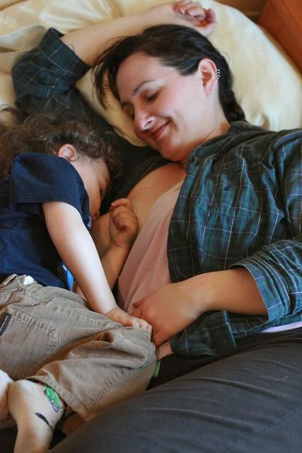 Nach der Säuglingszeit stillen