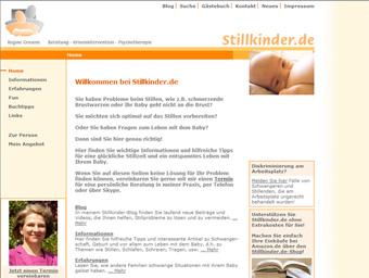 Stillkinder.de im Jahr 2004